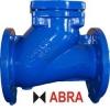 Клапан обратный чугунный фланцевый шаровой ABRA-D-022-NBR PN16