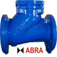 Клапан обратный чугунный фланцевый шаровой ABRA-D-022-NBR PN10