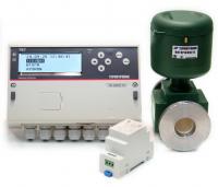 Комплект на базе одного расходомера ПИТЕРФЛОУ К класс А и тепловычислителя TB7-04.1M Лайт