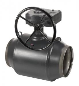 Кран шаровый стальной приварной JiP/G Premium WW с редуктором Ду-200 Ру-25 арт. 065N0156G фото 1