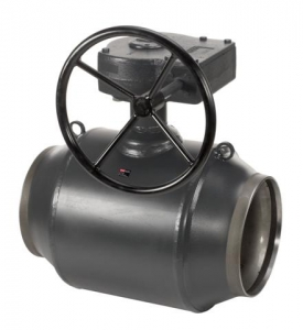 Кран шаровый стальной приварной JiP/G Premium WW с редуктором Ду-400 Ру-25 арт. 065N0176G фото 1