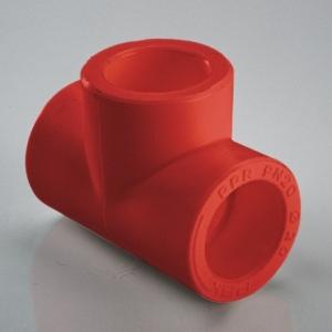 Тройник полипропиленовый ПП НГ (AntiFire) Дн-110 фото 1
