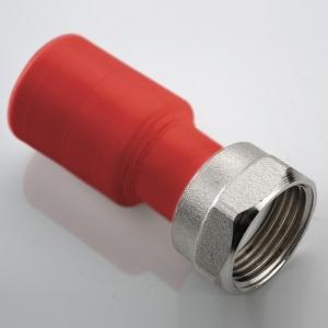 """Муфта полипропиленовая ПП НГ (AntiFire) с накидной гайкой Дн- 32х3/4"""" фото 1"""