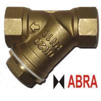 Фильтр сетчатый ABRA серии YS3000 PN16, латунный, муфтовый