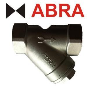 Фильтр сетчатый ABRA серии YS3000SS316 PN40, нерж. AISI316, муфтовый фото 1