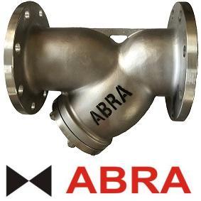 Фильтр сетчатый ABRA серии YF3000 PN16, нерж. AISI316, фланцевый фото 1