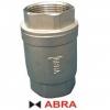 Клапан обратный нержавеющий резьбовой (внутренние резьбы) ABRA-D12 PN40