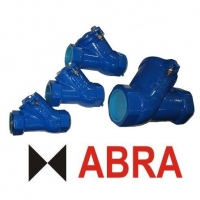 Клапан обратный чугунный резьбовой (внутренние резьбы) ABRA-D-022S-NBR PN16