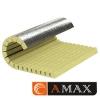 Цилиндр теплоизоляционный ламельный кашированный фольгой  D377x80 мм фото 2
