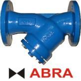 Фильтр сетчатый ABRA серии YF3016 PN16, чугунный, фланцевый