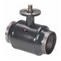 Кран шаровый стальной приварной JiP Premium WW под электропривод Ду-400 Ру-25 арт. 065N0177G фото 1