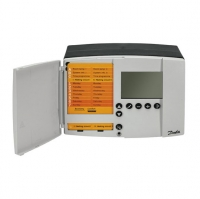 Комплект для монтажа в вырезе шкафа регулятора температуры Danfoss ECL 110 арт. 087B1249