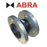 Гибкая вставка ABRA серии EJF16NBR, PN16, фланцевая, маслобензостойкая, Траб.=70° C, Тмакс.=80° C