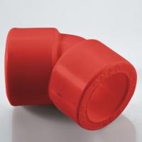 Угольник 45 гр полипропиленовый ПП НГ (AntiFire) Дн- 32