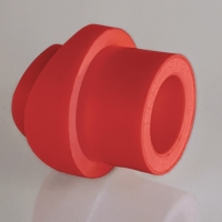 Седло вварное полипропиленовое ПП НГ (AntiFire) Дн- 40-20
